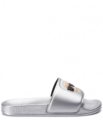Шлепанцы Karl Lagerfeld KL80905 серебристые