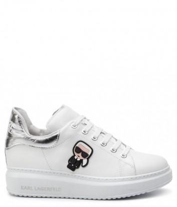 Кожаные кеды Karl Lagerfeld KL42530 белые