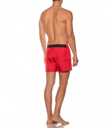 Красные шорты Karl Lagerfeld KL19MBS02 с логотипом