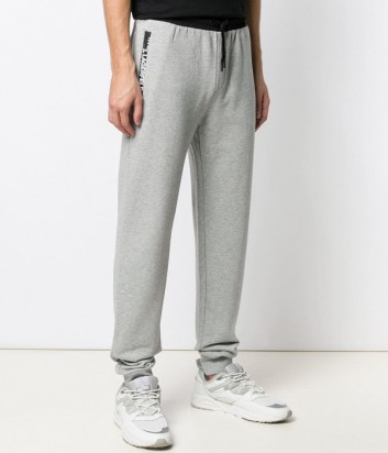 Серые спортивные брюки Karl Lagerfeld 705011 с логотипом