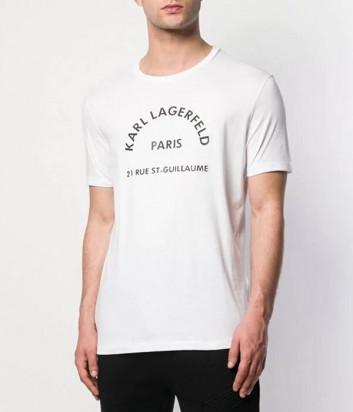Футболка Karl Lagerfeld 755059 белая