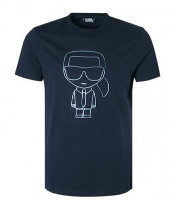 Футболка Karl Lagerfeld 755063 синяя