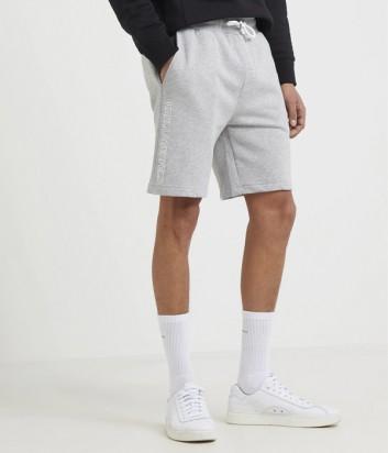 Спортивные шорты Karl Lagerfeld 705006 с логотипом серые