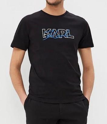 Футболка Karl Lagerfeld 755042 черная
