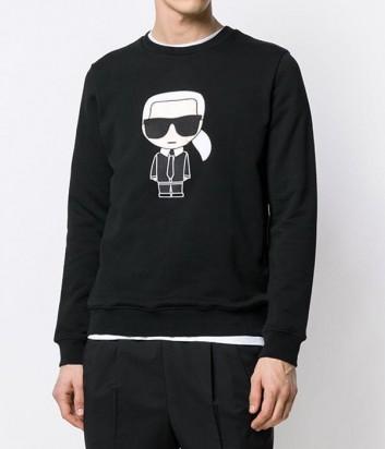 Свитшот Karl Lagerfeld Ikonik 582950 черный