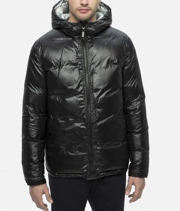 Двухсторонний пуховик Karl Lagerfeld 505002 серебристо-черный
