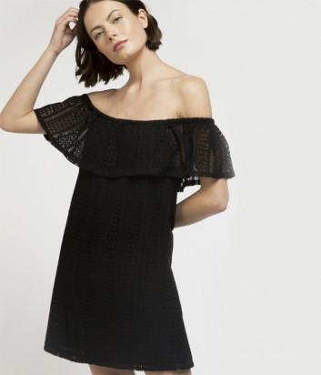 Пляжное платье Gisela 22052 черное