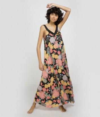 Длинное платье Gisela 22055 с цветочным принтом