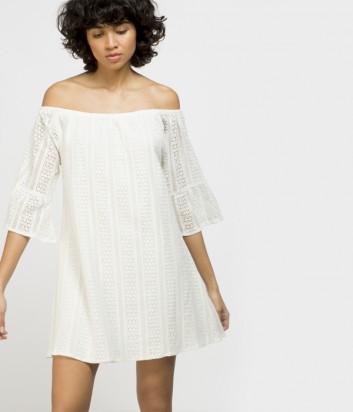 Пляжное платье Gisela 22065 белое