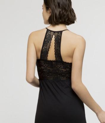 Длинная сорочка Gisela 31572 черная