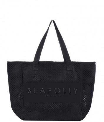 Пляжная сумка Seafolly 71448-BG черная