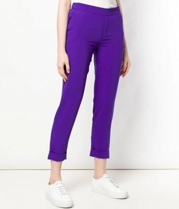 Укороченные брюки P.A.R.O.S.H. Panterya 230162 фиолетовые