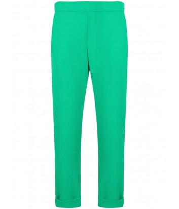 Укороченные брюки P.A.R.O.S.H. Panterya 230162 зеленые