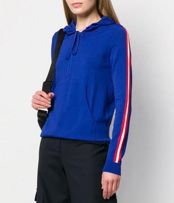 Синее худи P.A.R.O.S.H. Running 510843 с капюшоном