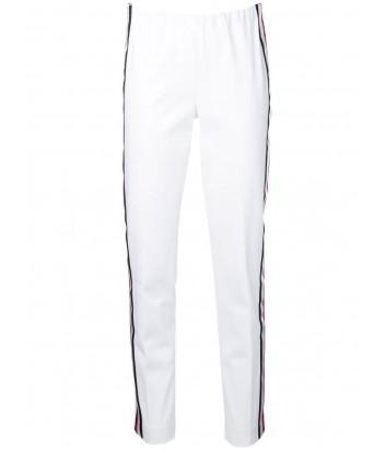 Белые брюки P.A.R.O.S.H. Cyber 220003 с лампасами