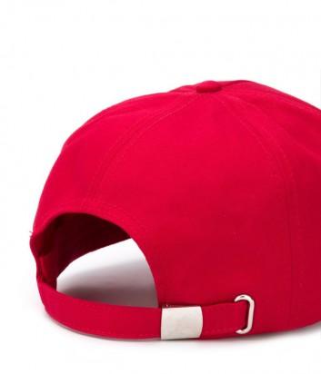 Мужская кепка ICEBERG 71036912 красная с вышитым логотипом