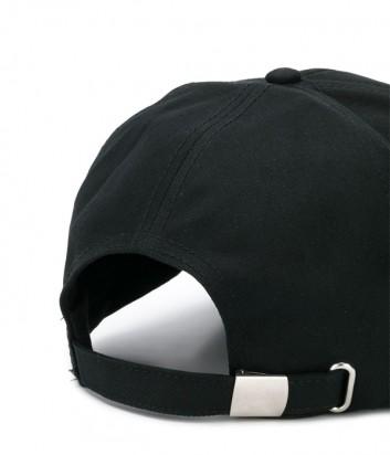 Мужская кепка ICEBERG 71036912 черная с вышитым логотипом