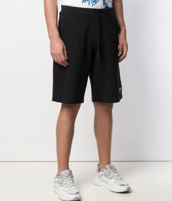 Черные шорты ICEBERG D0116311 с логотипом