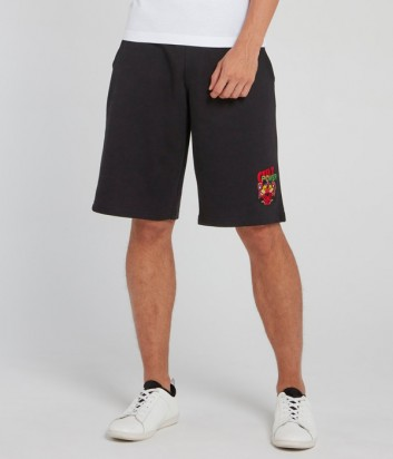 Черные шорты ICEBERG D0126304 с вышивкой