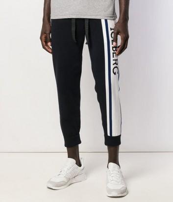 Спортивные штаны ICEBERG AB017604 черные с логотипом