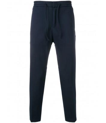 Темно-синие брюки ICEBERG B0504763 с кулиской