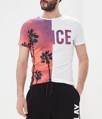 Мужская футболка ICE PLAY F01GP410 с рисунком