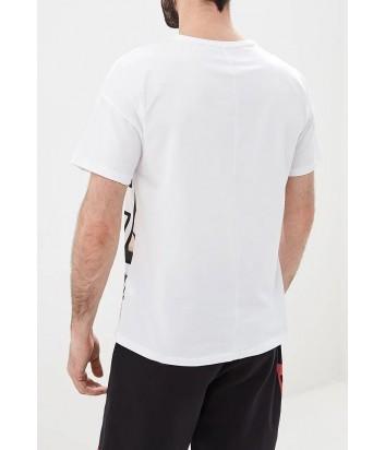 Белая футболка ICE PLAY F053P410 с ярким принтом