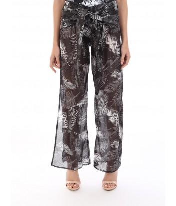 Пляжные брюки Karl Lagerfeld KL19WCU07 с принтом и люрексом