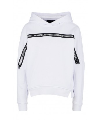 Белое худи Karl Lagerfeld 91KW1710 с молниями