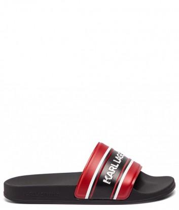 Мужские шлепанцы Karl Lagerfeld KL70006 красные