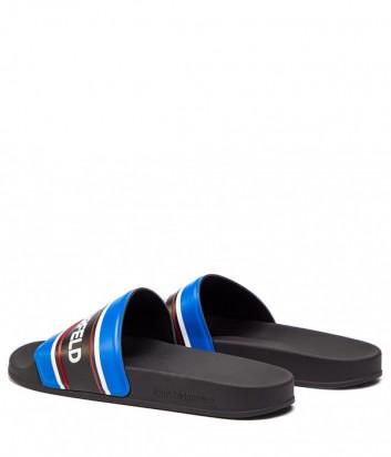 Мужские шлепанцы Karl Lagerfeld KL70006 синие