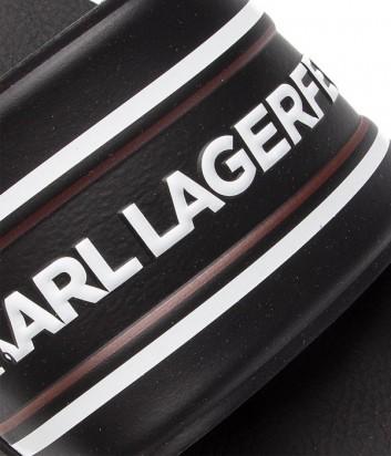 Мужские шлепанцы Karl Lagerfeld KL70006 черные