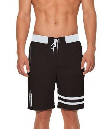 Длинные шорты Karl Lagerfeld KL19MBL01 черные