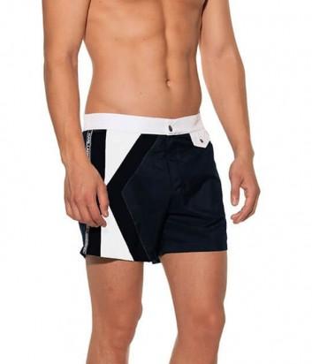 Мужские шорты Karl Lagerfeld KL19MBM04 темно-синие