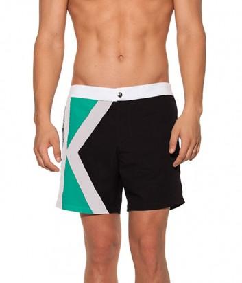Мужские шорты Karl Lagerfeld KL19MBM02 черные