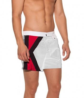 Мужские шорты Karl Lagerfeld KL19MBM04 белые